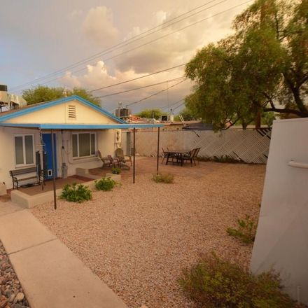 Rent this 4 bed house on 2469 North Santa Rita Avenue in Tucson, AZ 85719