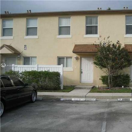 Rent this 3 bed townhouse on Margate in FL, US