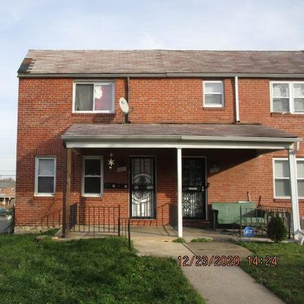 Rent this 3 bed townhouse on 1431 North Potomac Street in Baltimore, MD 21213