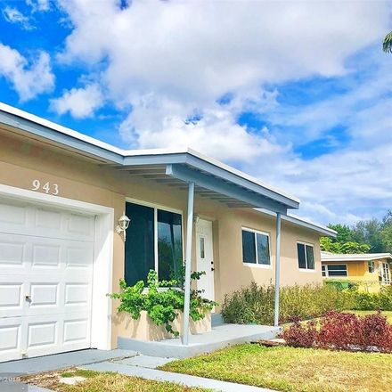 Rent this 3 bed house on 943 Northwest 13th Street in Fort Lauderdale, FL 33311