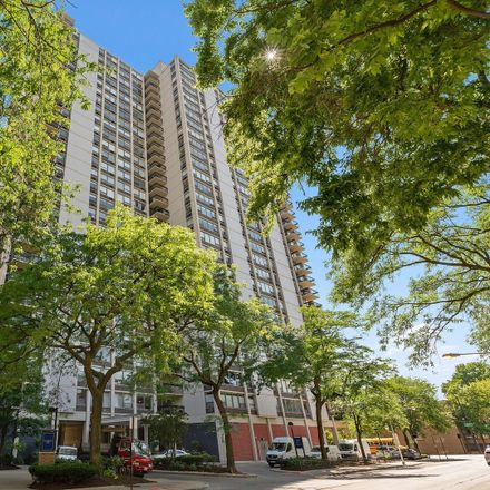 Rent this 1 bed condo on Cummings House in 1360 North Sandburg Terrace, Chicago