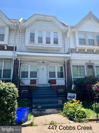 Rent this 4 bed townhouse on Cobbs Creek Parkway in Philadelphia, PA 19142