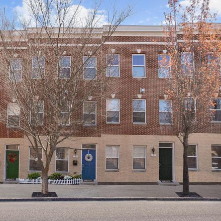 Rent this 3 bed townhouse on 127 North Chester Street in Baltimore, MD 21231