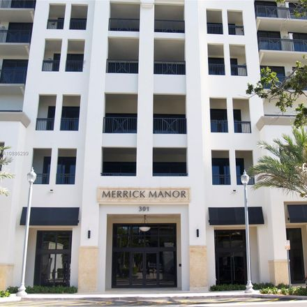 Rent this 1 bed condo on 301 Altara Avenue in Coral Gables, FL 33146