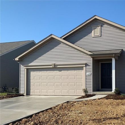 Rent this 3 bed house on 392 Victory Height Drive in Wentzville, MO 63366