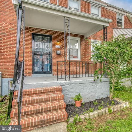 Rent this 3 bed townhouse on 5352 Cuthbert Avenue in Baltimore, MD 21215