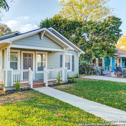 Rent this 3 bed house on 2405 North Elmendorf Street in San Antonio, TX 78201