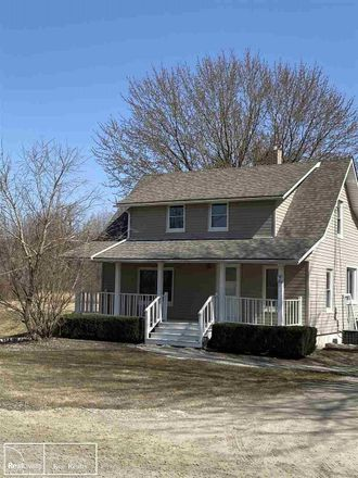 Rent this 3 bed house on Bates Rd in New Haven, MI