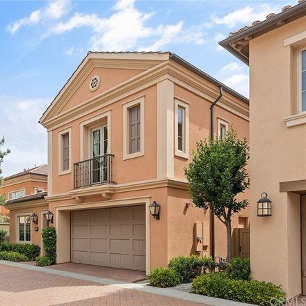 Rent this 4 bed condo on 99 Lupari in Irvine, CA 92618