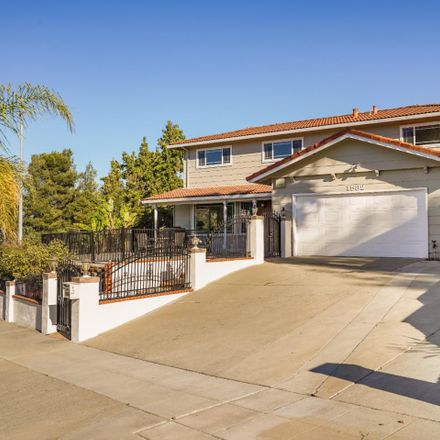 Rent this 5 bed house on 1582 Montalban Drive in San Jose, CA 95120