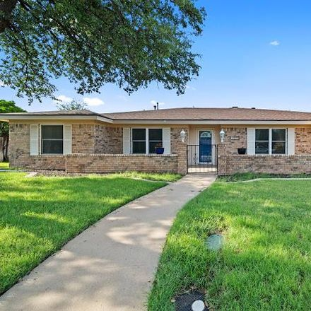 Rent this 4 bed house on 2821 Goddard Place in Midland, TX 79705