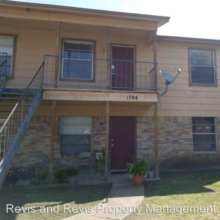 Rent this 2 bed duplex on 1704 Cedarhill Drive in Killeen, TX 76543