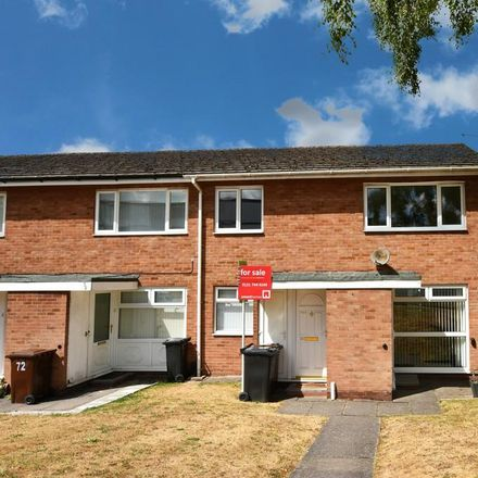 Rent this 2 bed apartment on Rowood Fish Bar & Pizzaria in Rowood Drive, Solihull B92