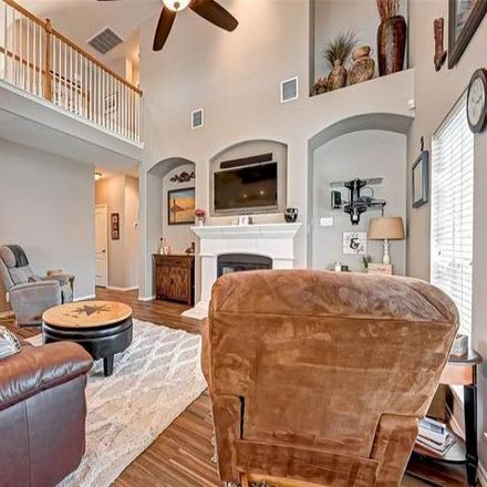 Rent this 4 bed house on 10326 Cobalt Falls Drive in Stone Gate, TX 77095