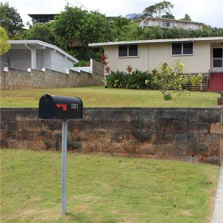 Rent this 3 bed house on 1371 Akalani Loop in Kailua, HI 96734