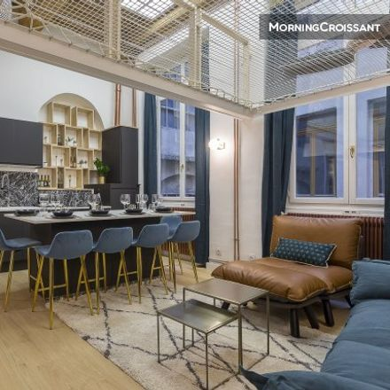 Rent this 2 bed apartment on Lyon 2e Arrondissement in AUVERGNE-RHÔNE-ALPES, FR