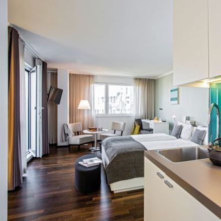 Rent this 1 bed apartment on The Flag in Baslerstrasse 100, 8048 Zurich