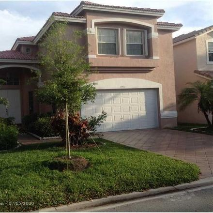 Rent this 4 bed house on 12472 Northwest 53rd Street in Heron Bay South, FL 33076