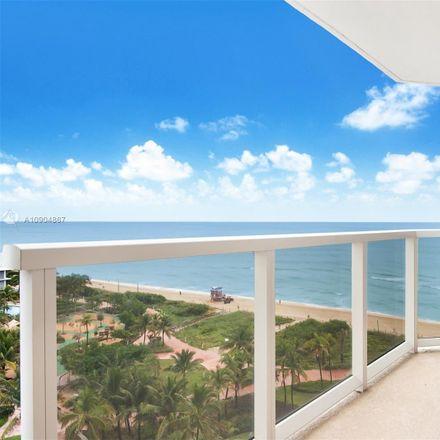 Rent this 2 bed condo on 6423 Collins Avenue in Miami Beach, FL 33141