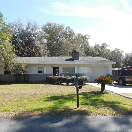 Rent this 2 bed house on 8605 N Pine Needle Ter in Crystal River, FL