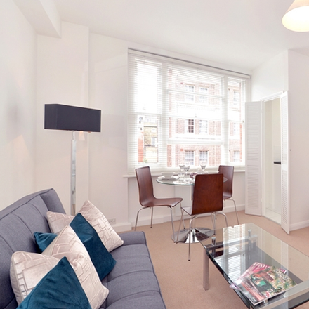 Rent this 0 bed apartment on The Greenhouse in 27a Hill Street, London W1J 5LX