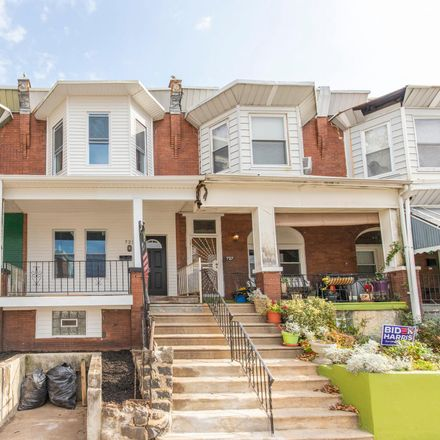 Rent this 3 bed townhouse on 725 South 55th Street in Philadelphia, PA 19143