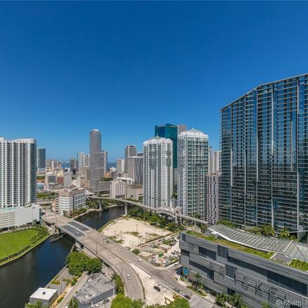 Rent this 3 bed condo on 88 Southwest 7th Street in Miami, FL 33135