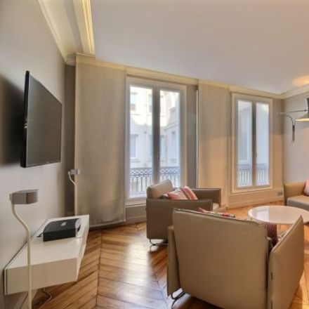 Rent this 1 bed apartment on 26 Rue des Petits Champs in 75002 Paris, France