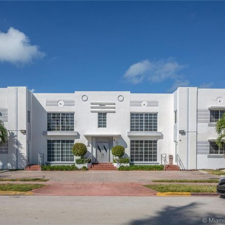 Rent this 2 bed apartment on Meridian Ave in Miami, FL