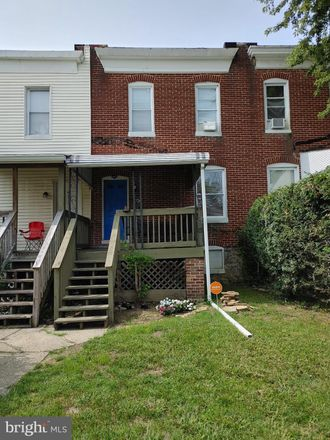 Rent this 2 bed townhouse on 3720 Manchester Avenue in Baltimore, MD 21215