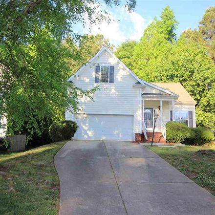 Rent this 3 bed house on 2520 Ferndown Court in Raleigh, NC 27603-2668