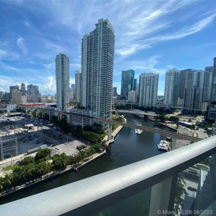 Rent this 2 bed condo on 185 Southwest 7th Street in Miami, FL 33130