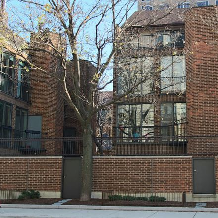 Rent this 3 bed townhouse on 1340 North Sutton Place in Chicago, IL 60610