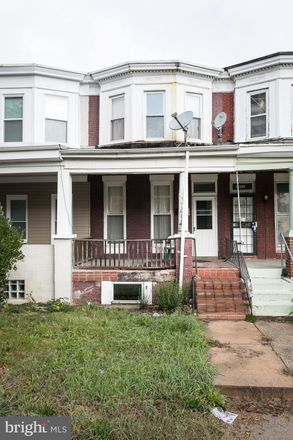 Rent this 3 bed townhouse on 3004 Windsor Avenue in Baltimore, MD 21216