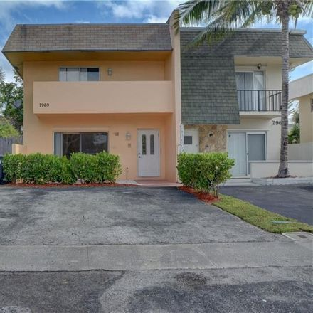 Rent this 3 bed townhouse on 7969 Southwest 5th Street in North Lauderdale, FL 33068