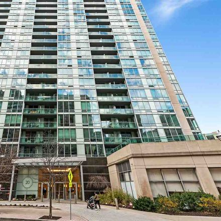 Rent this 1 bed apartment on Newport Pkwy in Jersey City, NJ