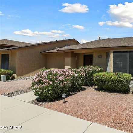 Rent this 1 bed apartment on 20058 North Broken Arrow Drive in Sun City West, AZ 85375