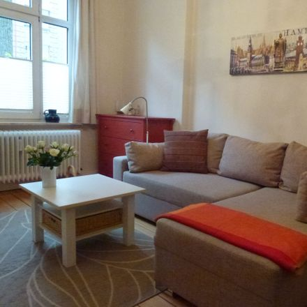 Rent this 1 bed apartment on Semperstraße 20 in 22303 Hamburg, Germany