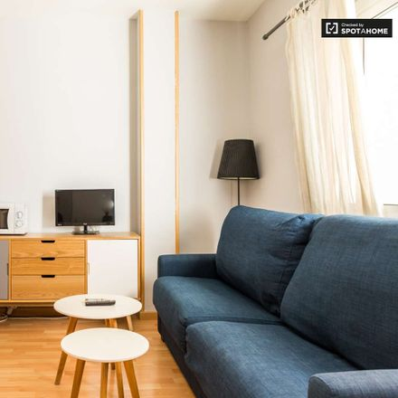 Rent this 1 bed apartment on Carrer de Laforja in 08021 Barcelona, Spain