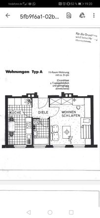 Rent this 1 bed apartment on Uhlandstraße 28 in 41464 Neuss, Germany