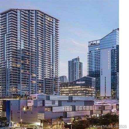 Rent this 2 bed condo on 68 Southeast 6th Street in Miami, FL 33131