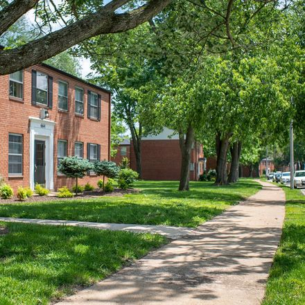 Rent this 2 bed apartment on 9426 Engel Lane in Olivette, MO 63132