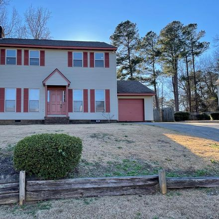 Rent this 3 bed house on 554 Forest Xing in Augusta, GA