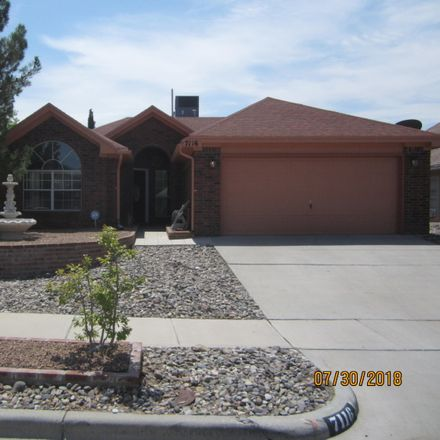 Rent this 3 bed apartment on 7116 Tierra Roja Street in El Paso, TX 79912