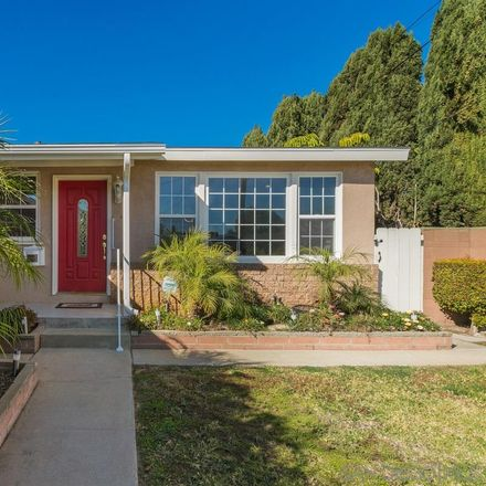 Rent this 3 bed house on 7380 Blix Street in San Diego, CA 92111