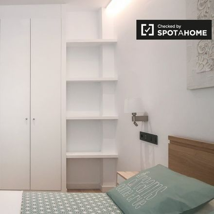 Rent this 1 bed apartment on Paseo de la Reina Cristina in 16, 28014 Madrid