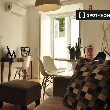 Rent this 1 bed apartment on Rua das Trinas 59 in 1200 Lisbon, Portugal