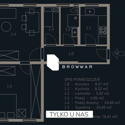 Rent this 3 bed apartment on Święty Marcin in 61-814 Poznań, Poland