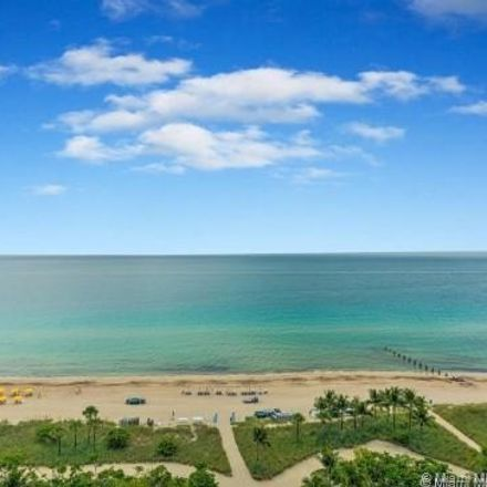 Rent this 2 bed apartment on 9801 Collins Ave in Bal Harbour, FL