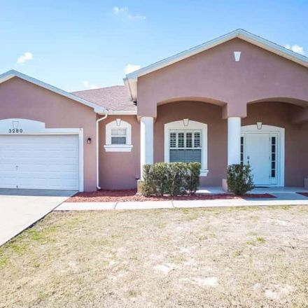 Rent this 3 bed house on 3280 Terkelson Avenue in Palm Bay, FL 32909